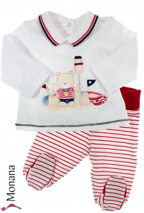 Mayoral two-pieces baby set Ahoi