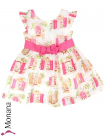Mayoral dress fuchsia