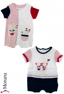 Mayoral 2er Set romper Teddy Ahoi