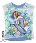 Mayoral T-Shirt Blue Girl<br>Größe: 164