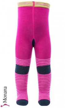Ewers slipping and crawling tights pink