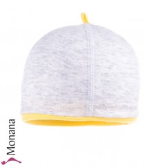 Maximo baby hat gray flecked
