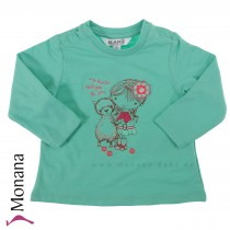 Kanz Shirt Flower Poetry<br>Größe: 62, 74