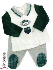 Mayoral two-pieces Nicki-Baby-Set Hund