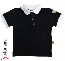 Steiff Collection Polo-Shirt Little Captain marine<br>Größe: 62, 68, 74, 80, 86