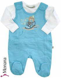 Kanz Baby-Strampler & Shirt My sweet little home<br>Größe: 56