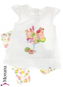 Mayoral child fashion set t-shirt & leggings Ice Cream