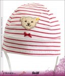 Steiff Collection Kindermütze Sweet Hearts rot<br>Größe: 41, 45