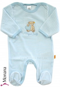 Steiff Collection Nicki-Overall my first Steiff hellblau<br>Größe: 80, 86