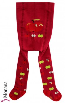 Maximo tights red apple