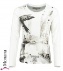 Garcia Shirt Winter white<br>Größe: 128/134, 140/146, 164/170