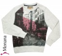 Garcia Shirt Sweater white melee<br>Größe: 140/146, 152/158