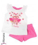 Mayoral Kindermode-Set T-Shirt & Shorts Flowerlady<br>Größe: 98, 104, 110, 116, 122, 128, 134