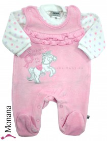 Jacky Nicki-Strampler & Baby-Shirt Girls Dream<br>Größe: 50, 56, 62, 68
