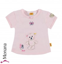 Steiff Collection T-Shirt Little Cutle rosa<br>Größe: 68, 74, 80, 86