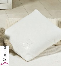 Picci decorative pillow Jasmine cream with Swarovski elements <b>Ready for delivery