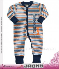 Jacky sleeping suit variofoot Beaver blue
