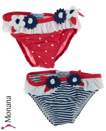 Mayoral swimming trunks Double pack red-blue