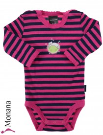 Schiesser Langarm-Baby-Body Magic<br>Größe: 56, 62, 68, 74, 80, 86, 92, 98