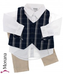 Kanz three-pieces Anzug Hemd, Weste & trousers Little Gents