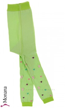 Maximo leggings green with hearts