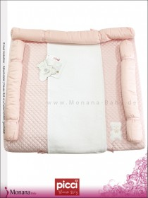 Picci changing mat Coco pink Dimensions: 29,5 x 31,5 inch (ca. 75 x 80 cm)