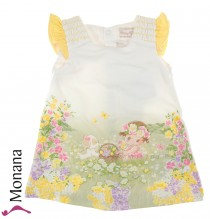 Mayoral dress flower meadow