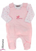 Kanz Baby-Strampler & Shirt Strawberry Love<br>Größe: 44, 50, 56, 62, 68