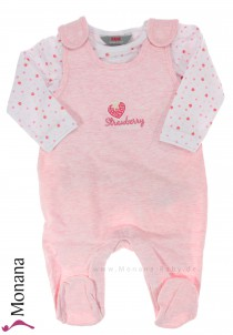 Kanz baby romper & shirt Strawberry Love