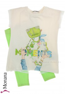 Mayoral Kindermode-Set T-Shirt & Leggings Moments<br>Größe: 98, 110, 116, 128, 134