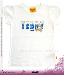 Steiff Collection T-Shirt weiß Pretty Retro<br>Größe: 98, 104, 110, 116