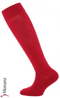 Ewers knee socks carmine red