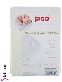 Picci waterproof mattress pad dimensions: 18,9 x 29,5 inch (ca. 48 x 75 cm) <b>Ready for delivery