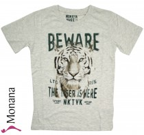 Mayoral Nukutavake t-shirt gray tiger