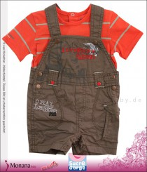 Sucre d´orge child fashion set t-shirt and latz bermuda