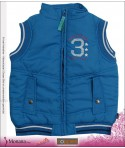 Noppies Weste Bodywarmer Boy Parrot blue<br>Größe: 134