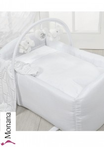 Dilibest by Picci mini cradle nest Miniculla Miro white Miniculla <b>Ready for delivery