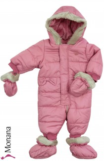 Mayoral snow suit pink