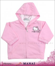 Manai Sweat-Jacke Hello Kitty rosa<br>Größe: 56, 68, 80