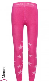 Ewers thermo leggings stars pink