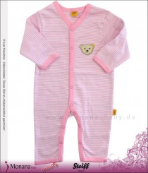 Steiff Collection Baby-Overall rosa<br>Größe: 56