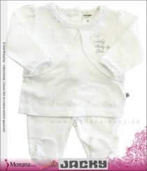 Jacky two-pieces baby set white Classic Girls