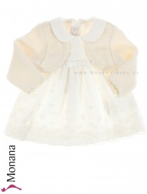 Mayoral baby dress cream