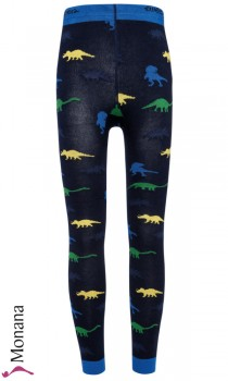 Ewers Strickleggings Dinos<br>Größe: 92/98, 98/104, 110/116, 122/128, 134/146