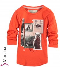 Garcia Shirt bright orange<br>Größe: 92/98, 104/110, 116/122, 128/134