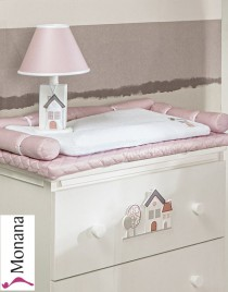 Dilibest by Picci changing mat Urban Smile pink Dimensions: 19,7 x 31,5 inch (ca. 50 x 80 cm) <b>Ready for delivery