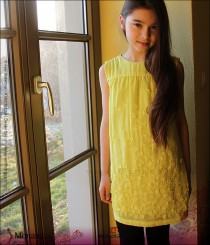 Mayoral dress lemon