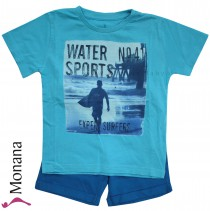 Mayoral Kindermode-Set T-Shirt & Bermudas Wassersport<br>Größe: 116, 122