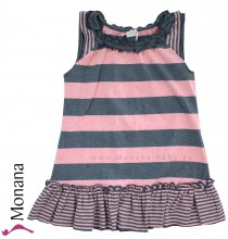 Königsmühle dress Butterfly pink-jeansblue