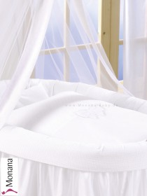 Leipold bed linen in Dreamland Schleife (Color: white) 80 x 80 cm & 35 x 40 cm <b>Ready for delivery
